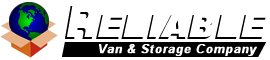 Reliable Van And Storage Logo